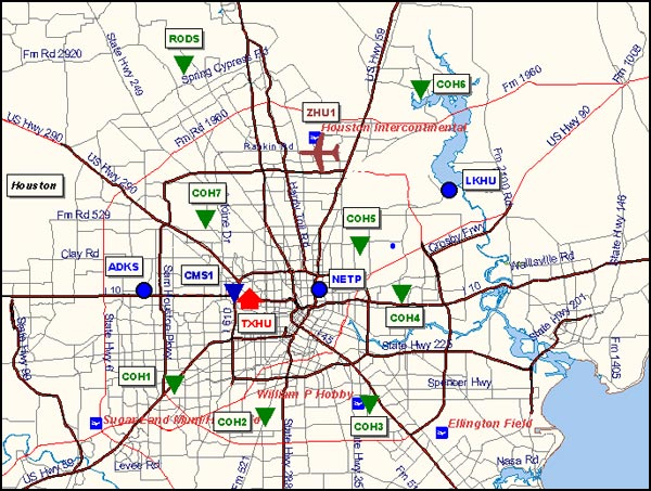 CORS Data City of Houston Department of Public Works and Engineering