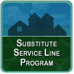 Substitute Service Line Program logo